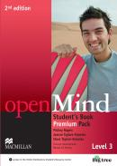 OPEN MIND 3 STUDENTS BOOK PREMIUM PACK - 2ND ED