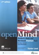OPEN MIND STARTER SB PREMIUM PACK WITH CD- AUDIO - 2ND ED