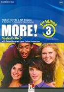 MORE! 3 STUDENTS BOOK WITH CYBER HOMEWORK AND ONLINE RESOURCES - 2ND ED