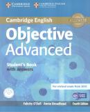 OBJECTIVE ADVANCED SB WITH ANSWERS & CD-ROM - 4TH ED