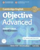 OBJECTIVE ADVANCED STUDENTS BOOK WITHOUT ANSWERS WITH CD-ROM - 4TH ED