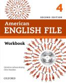 AMERICAN ENGLISH FILE 4 WORKBOOK WITH ICHECKER - 2ND ED