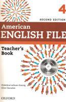 AMERICAN ENGLISH FILE 4 TEACHERS BOOK WITH TESTING PROGRAM CDROM - 2ND ED