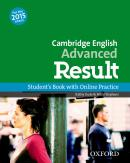 CAMBRIDGE ENGLISH ADVANCED RESULT SB AND ONLINE PRACTICE PACK