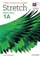 STRETCH 1 STUDENTS BOOK & WORKBOOK A MULTI-PACK WITH ONLINE PRACTICE