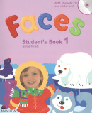 FACES 1 STUDENT´S BOOK PACK (SB+CD+STICKER)