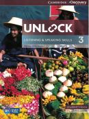 UNLOCK 3 LISTENING AND SPEAKING SKILLS STUDENTS BOOK AND ONLINE WORKBOOK