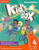 KIDS BOX 4 PUPILS BOOK - BRITISH - 2ND ED