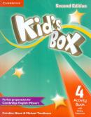 KIDS BOX 4 ACTIVITY BOOK WITH ONLINE RESOURCES - BRITISH - 2ND ED