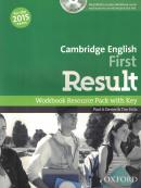 CAMBRIDGE ENGLISH FIRST RESULT WORKBOOK RESOURCE PACK WITH KEY