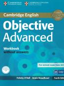 OBJECTIVE ADVANCED WB WITHOUT ANSWERS WITH AUDIO CD - 4TH ED