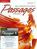 PASSAGES 1 STUDENTS BOOK WITH ONLINE WORKBOOK - 3RD ED