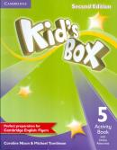KIDS BOX 5 ACTIVITY BOOK WITH ONLINE RESOURCES - 2ND ED