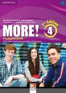 MORE! 4 STUDENT´S BOOK WITH CYBER HOMEWORKAND ONLINE RESOURCES - 2ND ED