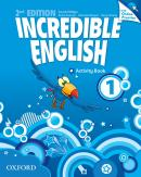 INCREDIBLE ENGLISH 1 ACTIVITY BOOK WITH ONLINE PRACTICE PACK - 2ND ED