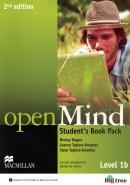 OPEN MIND 1B SB WITH WEBCODE & DVD - 2ND ED