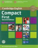 CAMBRIDGE ENGLISH COMPACT FIRST STUDENT´S BOOK WITHOUT ANSWERS WITH CD-ROM - 2ND ED