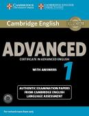 CAMBRIDGE ENGLISH ADVANCED 1 STUDENT´S BOOK  WITH ANSWERS AND AUDIO CDS
