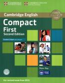 CAMBRIDGE ENGLISH COMPACT FIRST SB WITH ANSWERS AND CD-ROM - 2ND ED