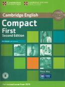 CAMBRIDGE ENGLISH COMPACT FIRST WB WITH ANSWERS - 2ND ED