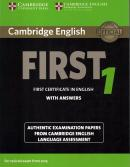 CAMBRIDGE ENGLISH FIRST 1 STUDENT´S BOOK WITH ANSWERS