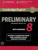 CAMBRIDGE ENGLISH PRELIMINARY 8 STUDENT´S BOOK PACK WITH ANSWERS
