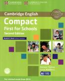 CAMBRIDGE ENGLISH COMPACT FIRST FOR SCHOOLS SB WITHOUT ANSWERS AND CD-ROM - 2ND ED.
