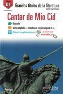 GRANDES TITULOS DE LA LITERATURA B1 - CANTAR DE MIO CID - LIBRO + AUDIO DESCARGABLE