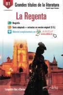 GRANDES TITULOS DE LA LITERATURA B1 - LA REGENTA - LIBRO + AUDIO DESCARGABLE