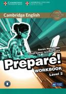CAMBRIDGE ENGLISH PREPARE! 2 WORKBOOK - 1ST ED