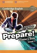 CAMBRIDGE ENGLISH PREPARE! 1 STUDENT´S BOOK - 1ST ED