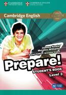 CAMBRIDGE ENGLISH PREPARE! 3 STUDENT´S BOOK - 1ST ED