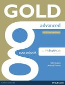 GOLD ADVANCED COURSEBOOK WITH MYENGLISHLAB