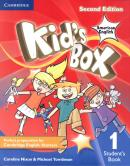 KIDS BOX AMERICAN ENGLISH 1 STUDENT´S BOOK - 2ND ED