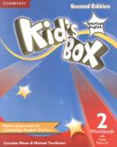 KIDS BOX AMERICAN ENGLISH 2 WORKBOOK WITH ONLINE RESOURCES - 2ND ED