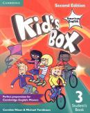 KIDS BOX AMERICAN ENGLISH 3 STUDENT´S BOOK - 2ND ED