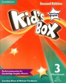 KIDS BOX AMERICAN ENGLISH 3 WORKBOOK WITH ONLINE RESOURCES - 2ND ED