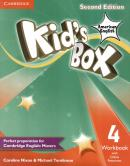 KIDS BOX AMERICAN ENGLISH 4 WORKBOOK WITH ONLINE RESOURCES - 2ND ED