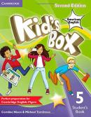 KIDS BOX AMERICAN ENGLISH 5 STUDENT´S BOOK - 2ND ED