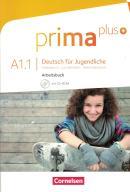 PRIMA PLUS A1.1 ARBEITSBUCH MIT CD-ROM