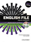 ENGLISH FILE BEGINNER MULTIPACK B WITH ITUTOR AND ONLINE SKILLS AND DVD - 3RD ED