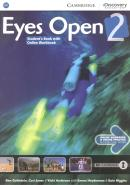 EYES OPEN 2 STUDENT´S BOOK WITH ONLINE WORKBOOK - 1ST ED