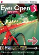 EYES OPEN 3 STUDENT´S BOOK WITH ONLINE WORKBOOK - 1ST ED