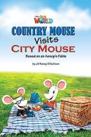 COUNTRY MOUSE VISITS CITY MOUSE - READER 2 - OUR WORLD 3