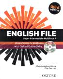 ENGLISH FILE UPPER-INTERMEDIATE MULTIPACK A WITH  ITUTOR  ONLINE SKILLS - 3RD ED