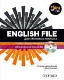 ENGLISH FILE UPPER-INTERMEDIATE MULTIPACK B WITH ONLINE SKILLS - 3RD ED