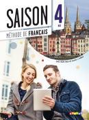 SAISON 4 LIVRE ELEVE + CD AUDIO + DVD (B2)