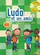 LUDO ET SES AMIS 2 - LIVRE DE L´ELEVE + CD AUDIO - NOUVELLE EDITION