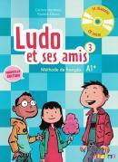 LUDO ET SES AMIS 3 LIVRE DE L´ELEVE + CD AUDIO - NOUVELLE EDITION