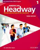 AMERICAN HEADWAY 1 SB WITH OXFORD ONLINE SKILLS PROGRAM - 3RD ED